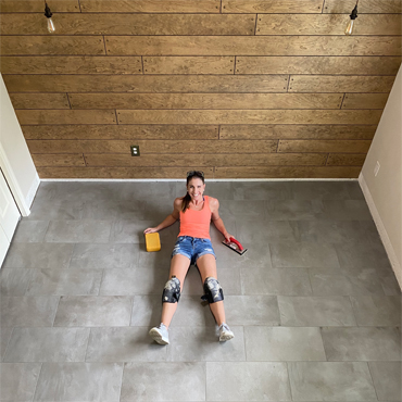 Daltile 'Style Squad' Influencer Shows Consumers How DIY Easy RevoTile Is