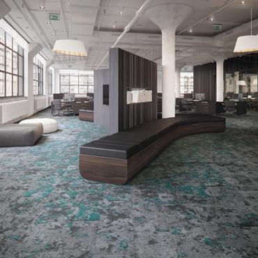 Mohawk Group's Lichen Wins Interior Design Best of Year Award for Modular Carpet