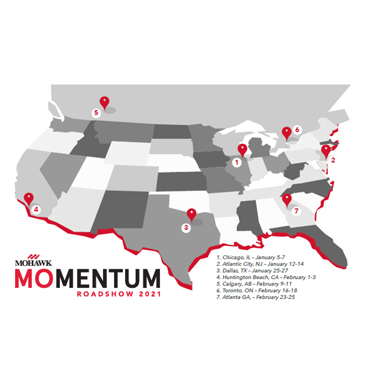 Mohawk Momentum Roadshow Coming to a City Near You