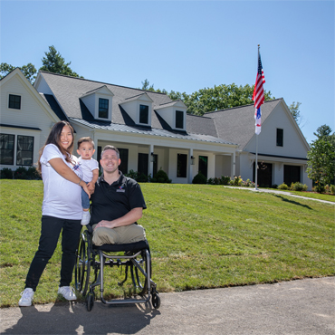 NWFA Completes 47th Home with Gary Sinise Foundation