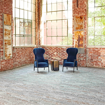 Patcraft's Oxidation Experiment Inspires Artefact Carpet Tile
