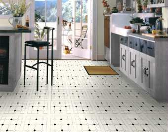 resilient tile floors